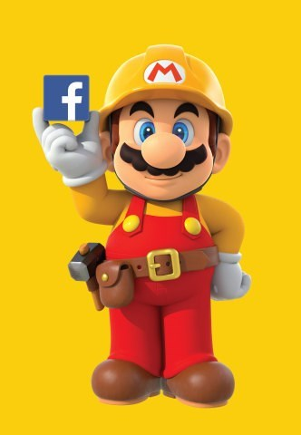 Facebook with host a Nintendo hackathon for the release of Mario Maker.