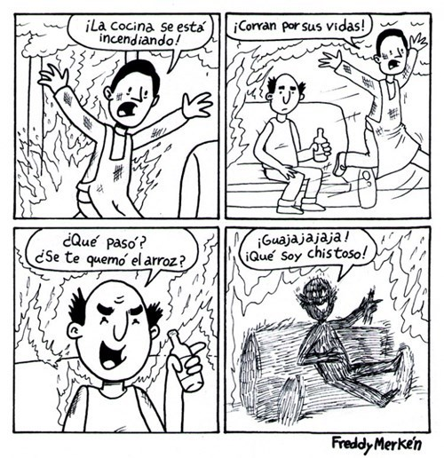 cocina se quema