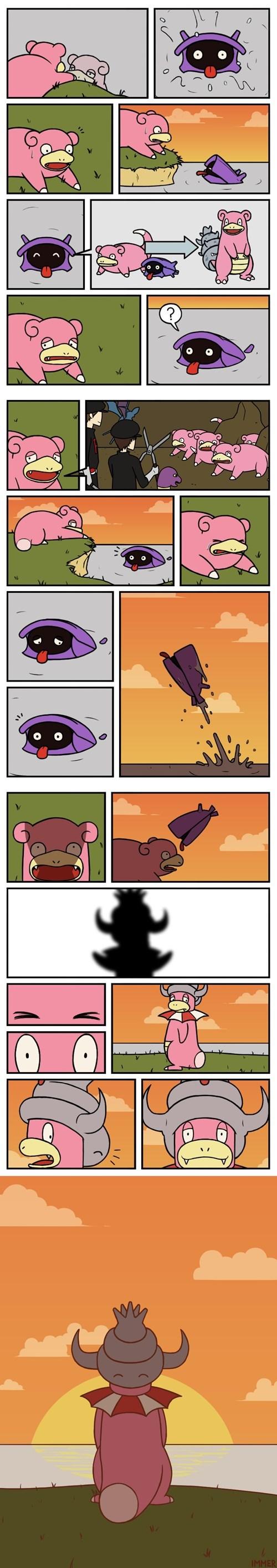 pokemon memes slowpoke sad comic