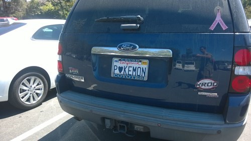 pokemon memes heart pokemon vanity plate