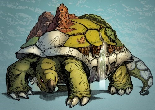 My Dream Home is a Little Cabin Atop a Torterra