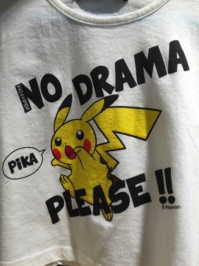 pokemon memes no drama pikachu shirt