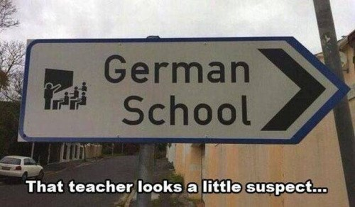 funny memes german school sign salute