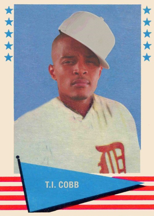 This Tumblr Mixes Old Baseball Cards With Rap Music Pop