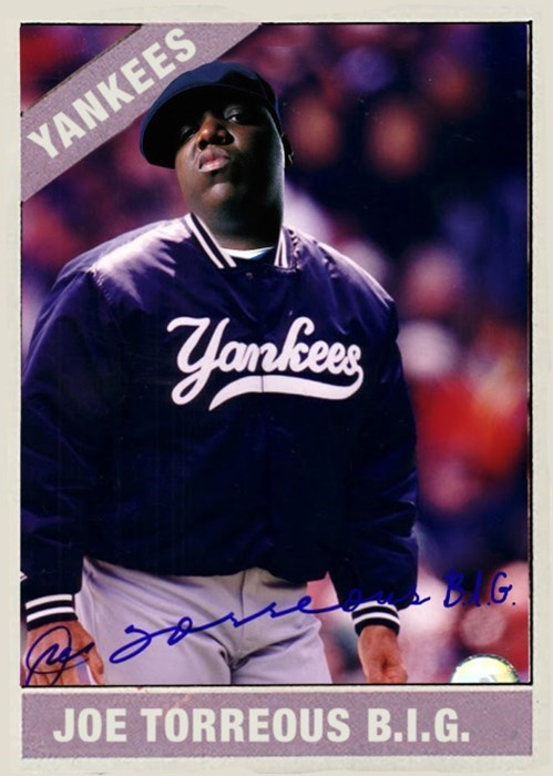 Baseball player - YANKEES yankens G JOE TORREOUS B.I.G.