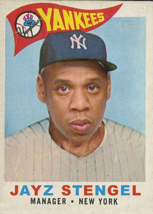 Forehead - YANKEES JAYZ STENGEL MANAGER NEW YORK