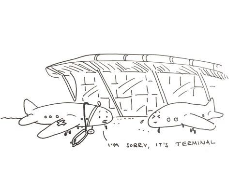 planes puns terminal web comics - 8542157824