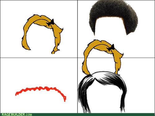 wig fail,meta,Rage Comics