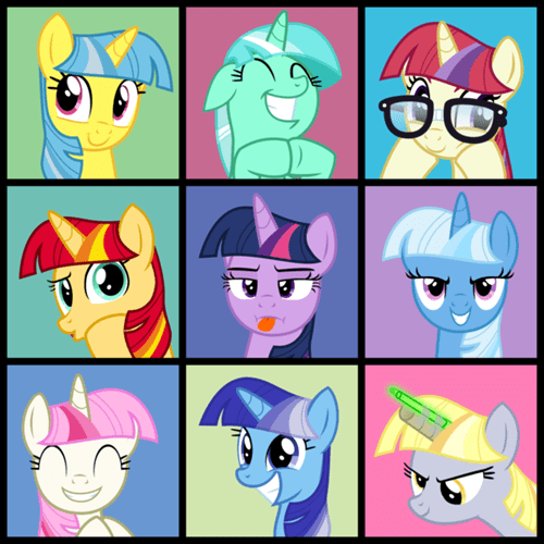 spoof,twilight sparkle,brady bunch