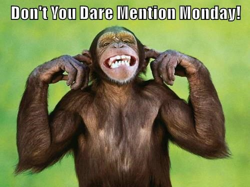 Don't You Dare Mention Monday!
