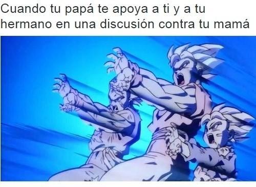 discucion con tu mama