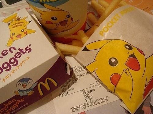 pokemon memes pikachu mcdonalds