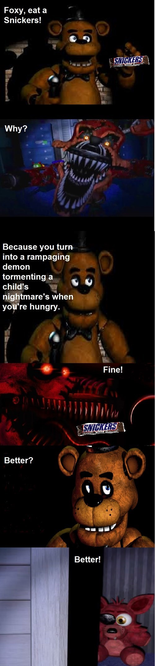 fnaf five nights at freddys snickers. - 8542708480