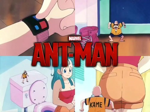 antman en dragon ball