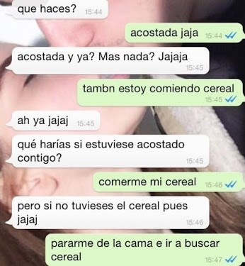 comer cereal