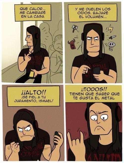 te gusta el metal