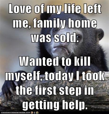 love of my life left me