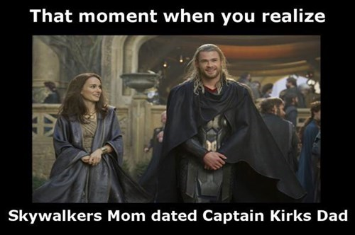 superheroes-thor-marvel-kirk-dad-luke-skywalker-mom-dated