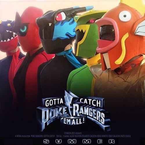 power rangers Pokémon - 8544100352