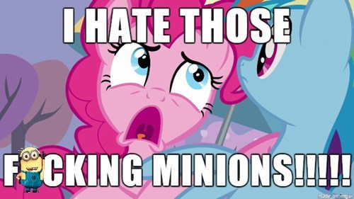 minions hate pinkie pie - 8544149248