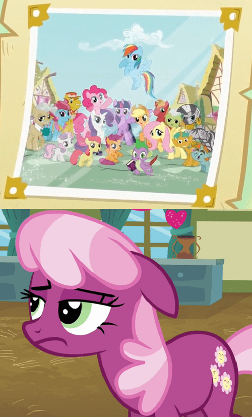 MLP,left out,miss cheerilee