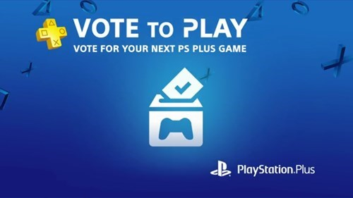 Sony will let Playstation Plus people vote on the next month's games
