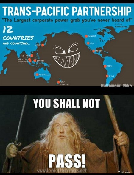 TPPA - You Shall Not Pass!