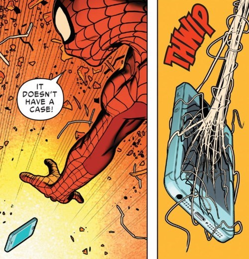 superheroes-spider-man-marvel-new-phone-broken-screen-panel