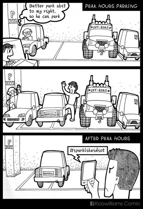 funny-web-comics-the-drama-of-parking