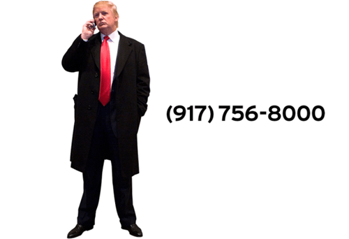 Gawker releases Donald Trump's phone number.