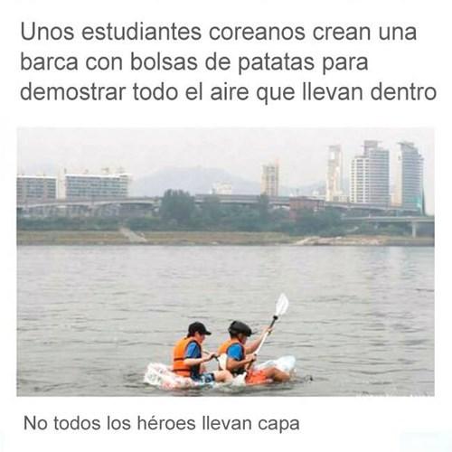 no todos los heroes tienen capa