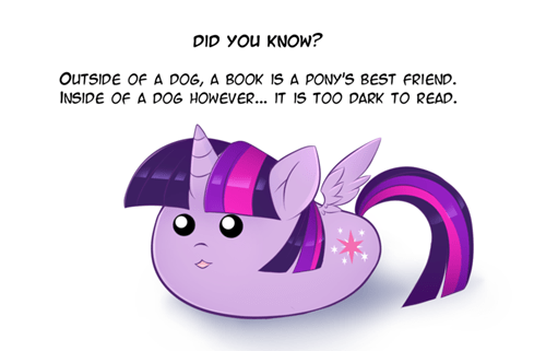 twilight sparkle book horse wat - 8545857280