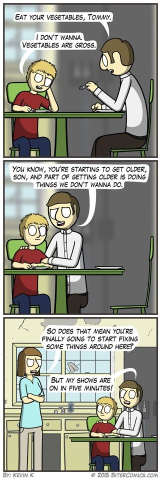 vegetables,sad but true,son,web comics,Father