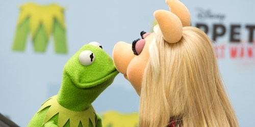 Kermit the frog and Miss Piggy call it quits and the world goes insane.