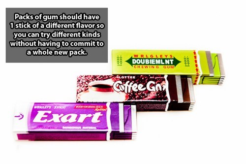 Product - Packs of gum should have 1stick of a different flavor so you can try different kinds without having to commit to a whole new pack WRLGLEYS DOUBIEMLNT CHEWING GUM affee Ga WRIGLIYS SSC0 Exart NOUSArAL 22224