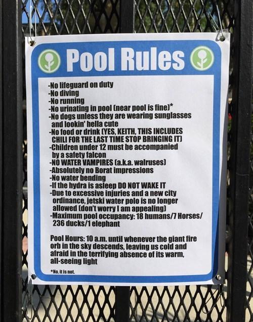 trolling-pool-rules