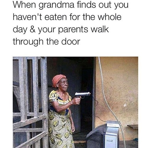 Granny Don't Mess Around