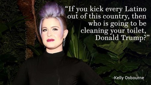 Kelly Osbourne Clean Toilets Donald Trump The View