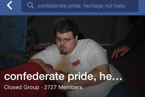 Text - confederate pride, heritage not hate. PHS confederate pride, he... Closed Group 2727 Members
