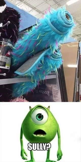 sully es un loquillo