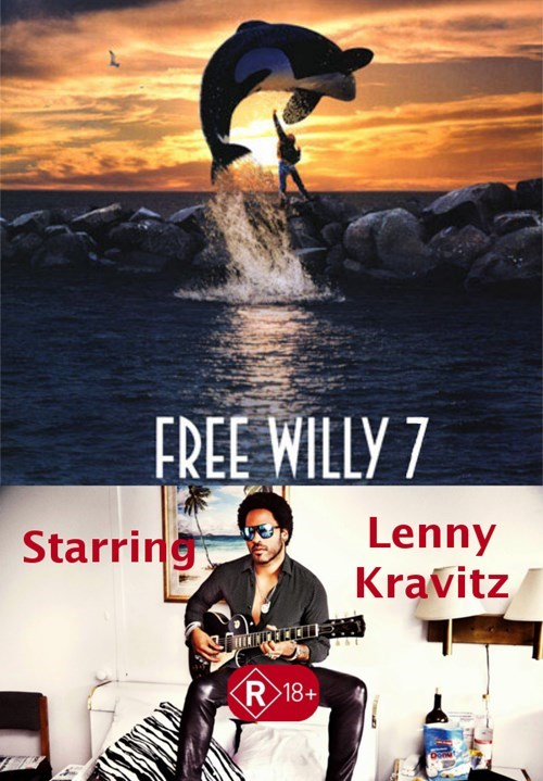 lenny kravitz,free willy