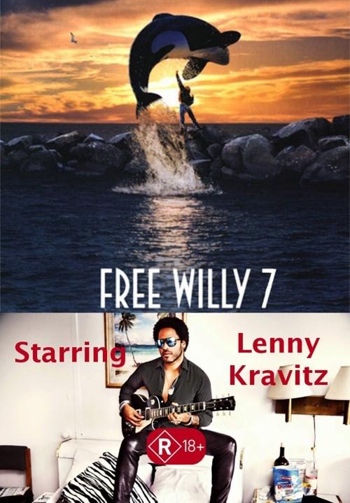 lenny kravitz free willy - 8546474752