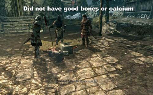 Action-adventure game - Did not have good bones or calcium dstBirJompenallar