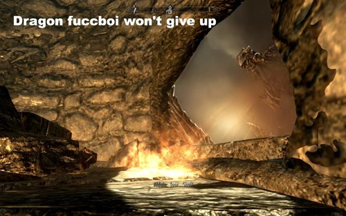 Nature - Dragon fuccboi won't give up thel