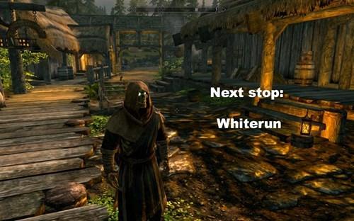 Action-adventure game - Next stop: Whiterun