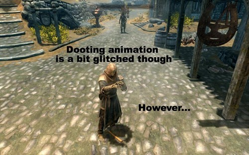 Action-adventure game - U Dooting animation is a bit glitched though However...