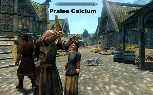 Action-adventure game - Praise Calcium