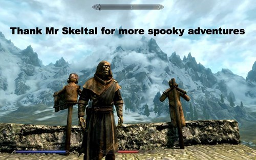 Action-adventure game - Thank Mr Skeltal for more spooky adventures