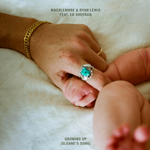 Macklemore releases his newest single, Growing Up with Ed Sheeran