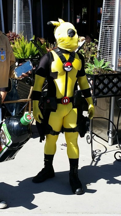 pokemon memes pikachu deadpool cosplay